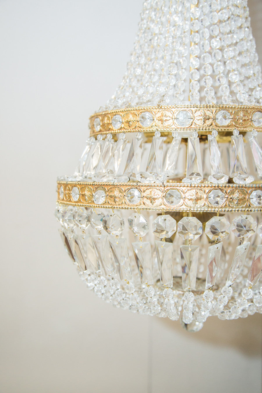 Antique Empire style Chandelier