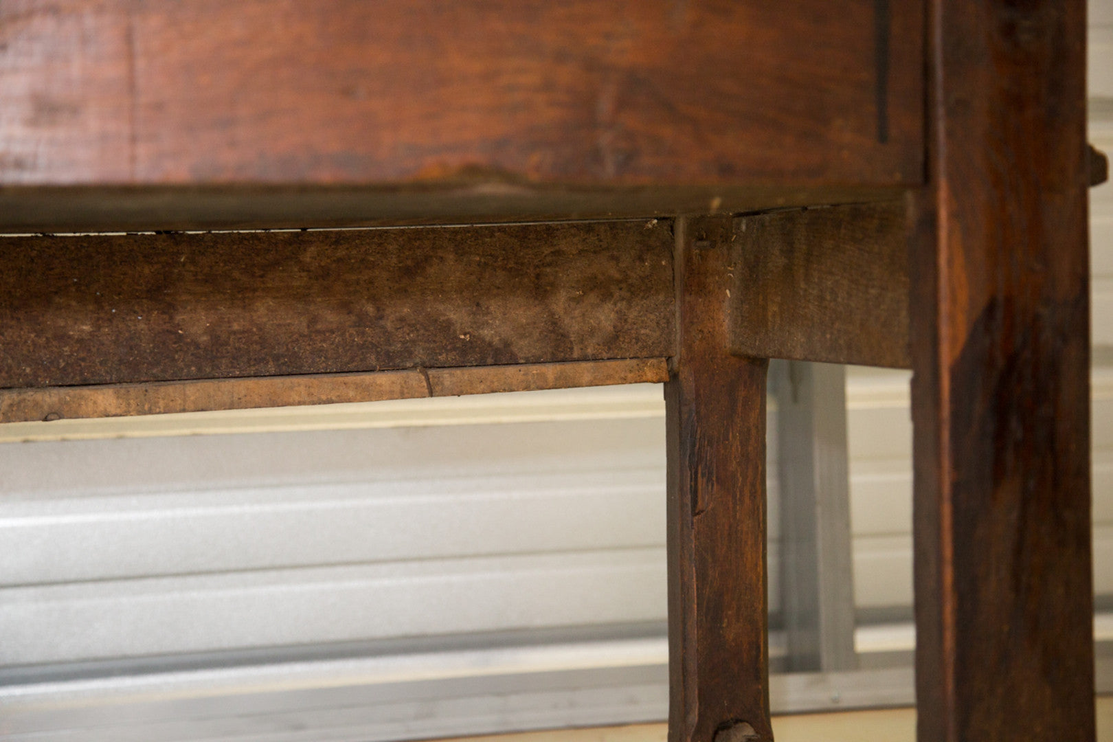 French Antique Settle Bench