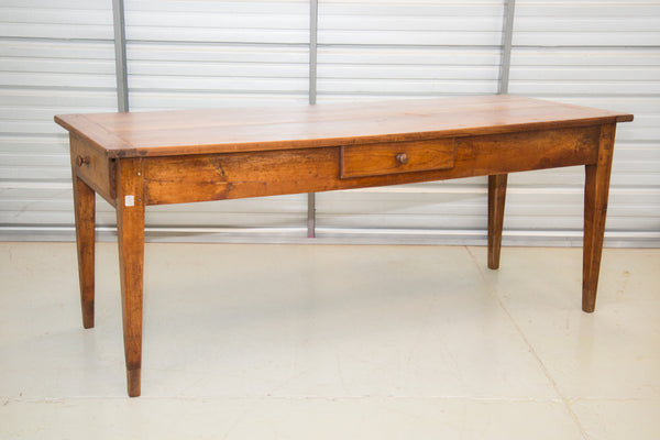 French Cherry Farmer Table 18th C France
