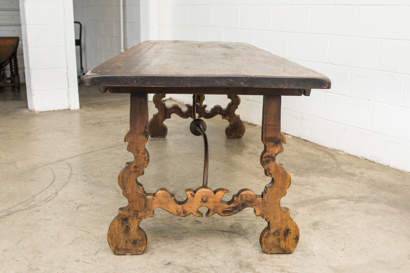 Spanish 19th Century Farm Table