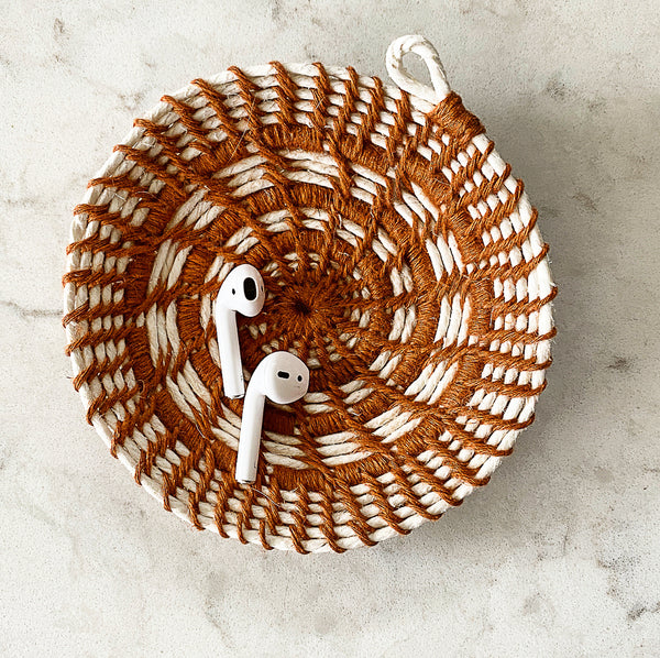 Coiled Jewelry Dishes Kit - Flax and Twine