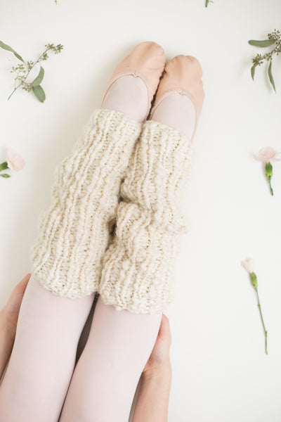 One Skein Chunky Leg Warmers - Multiple Sizes
