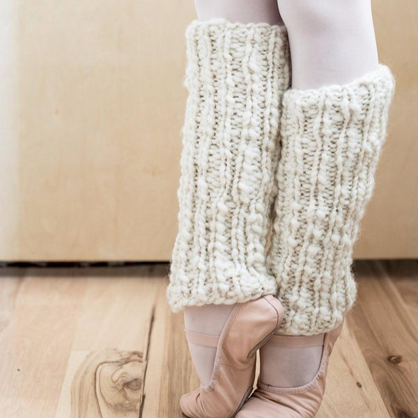One Skein Chunky Leg Warmers Knit Kit