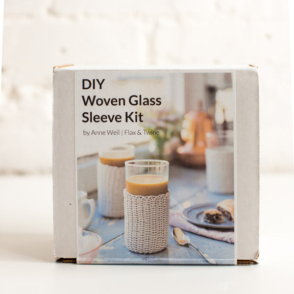 Woven Twine Glass Sleeve Kit