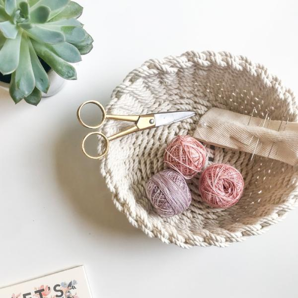 Twined Woven Rope Bowl Kit