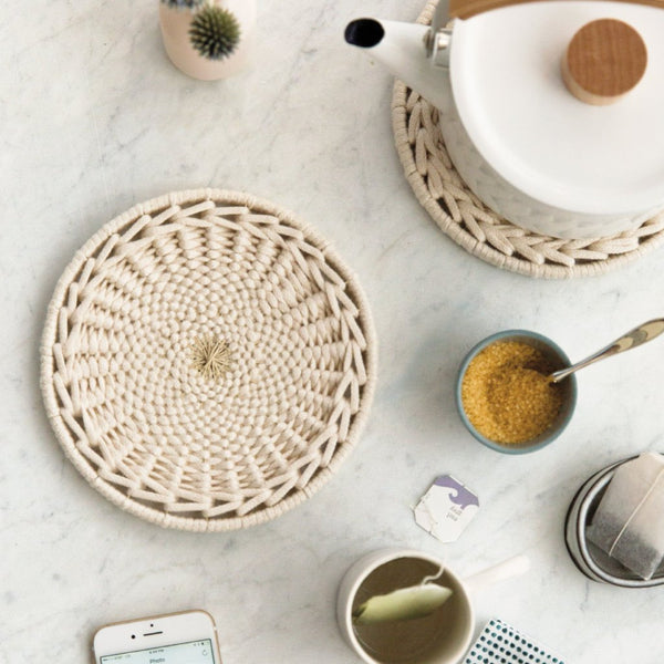 Woven Cotton Trivet Kit (Makes 2)