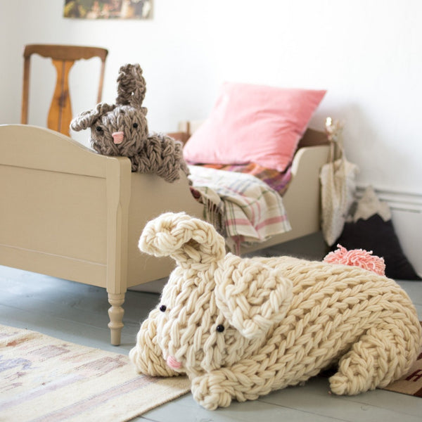 Giant Arm Knit Bunny Kit - Small