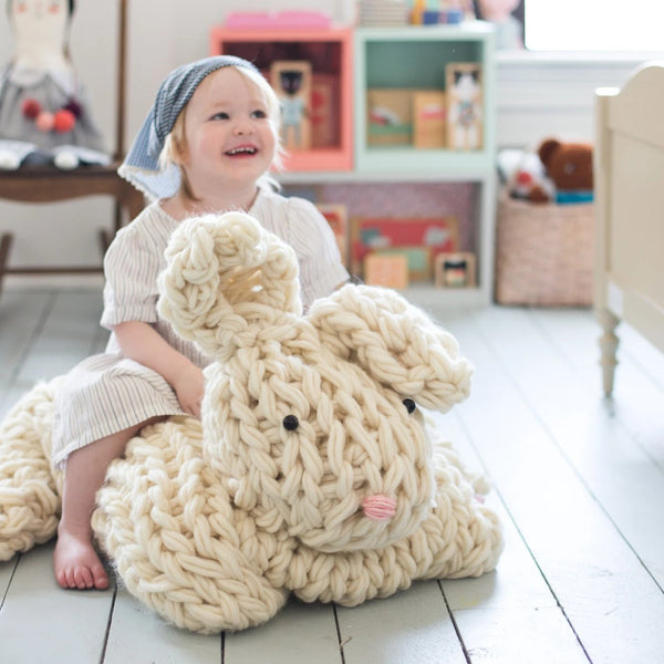 Giant Arm Knit Bunny Kit - Large