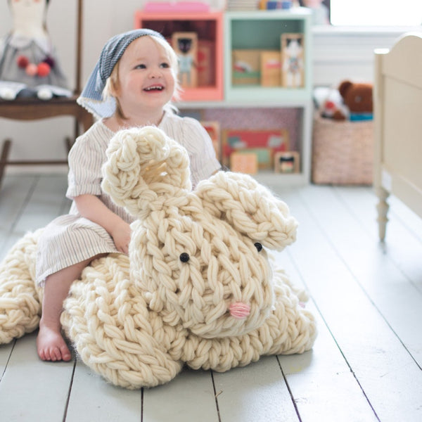 Giant Arm Knit Bunny Pattern