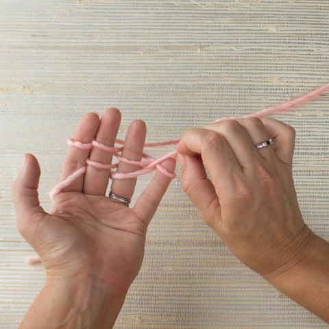 How To Finger Knit