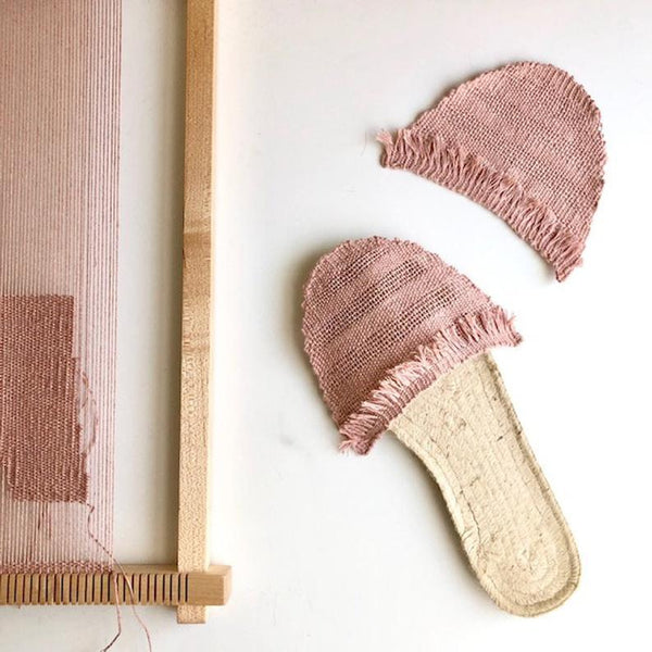 Woven Espadrilles Pattern for Frame Loom