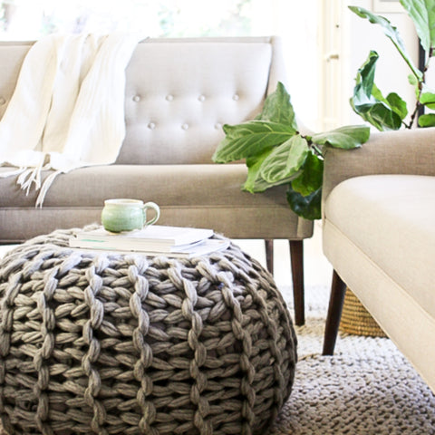 Fabulous Floor Pouf Pattern