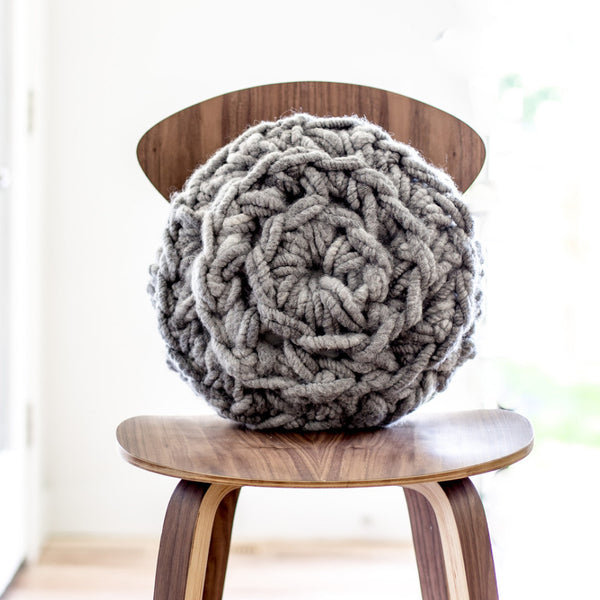 Hand Crochet Round Pillow Pattern