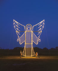 LED Angel Holiday Lights Display 2019