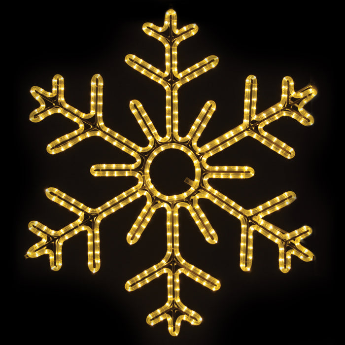 6 Point Hanging Snowflakes