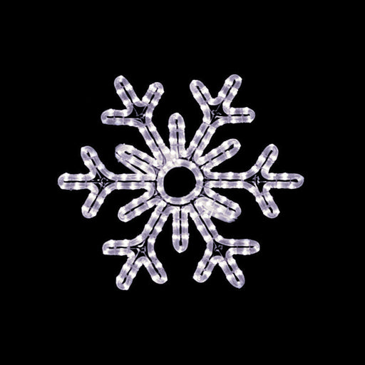 giant, commercial-grade, outdoor, Christmas, holiday, LED, rope light, quality, durable, motif, snowflake, decoration, hanging snowflake, 2021