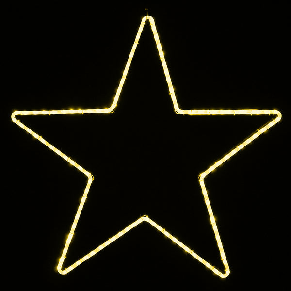 Lighted Christmas Stars, Large Outdoor Star Lights – HolidayLights.com