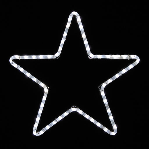 outdoor, indoor, LED, bulb, lights, quality, durable, commercial-grade, light motif, religious, Christmas, holiday, 2021, decoration, giant, star, pure white