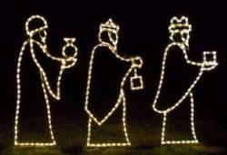 Small Three Wisemen Incandescent Set  -   (1322-I)