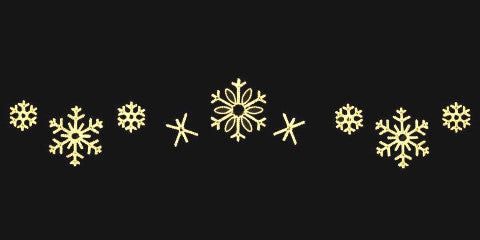 24ft. Snowflake Skyline Decoration - Warm White  (1501-W)