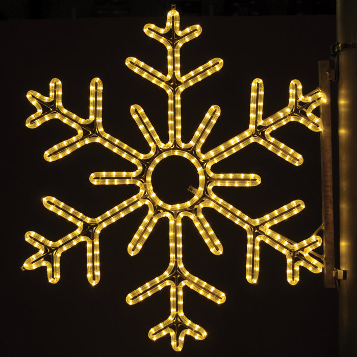 Pole Decoration - 6 Point Snowflake