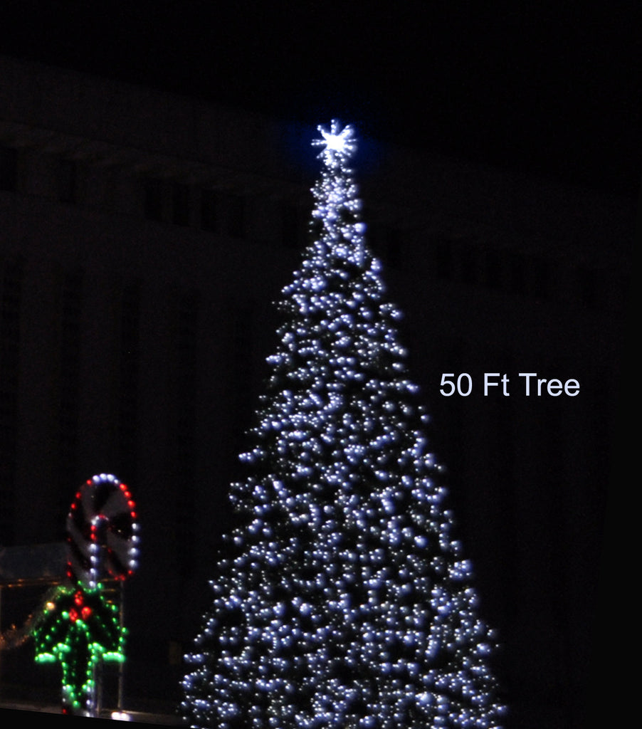 Standard Tree Topper Pure White (1070-P)