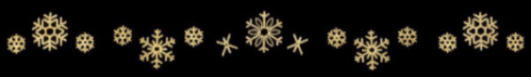 40ft Snowflake Skyline Decoration - Warm White (1502-W)