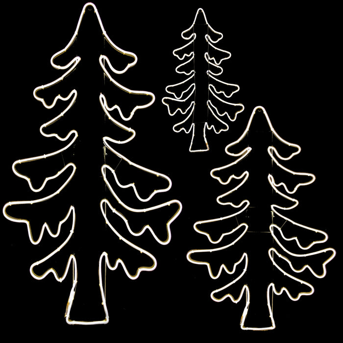 "2D Standing Tree Motifs - from 45"" to 91"" Tall!"
