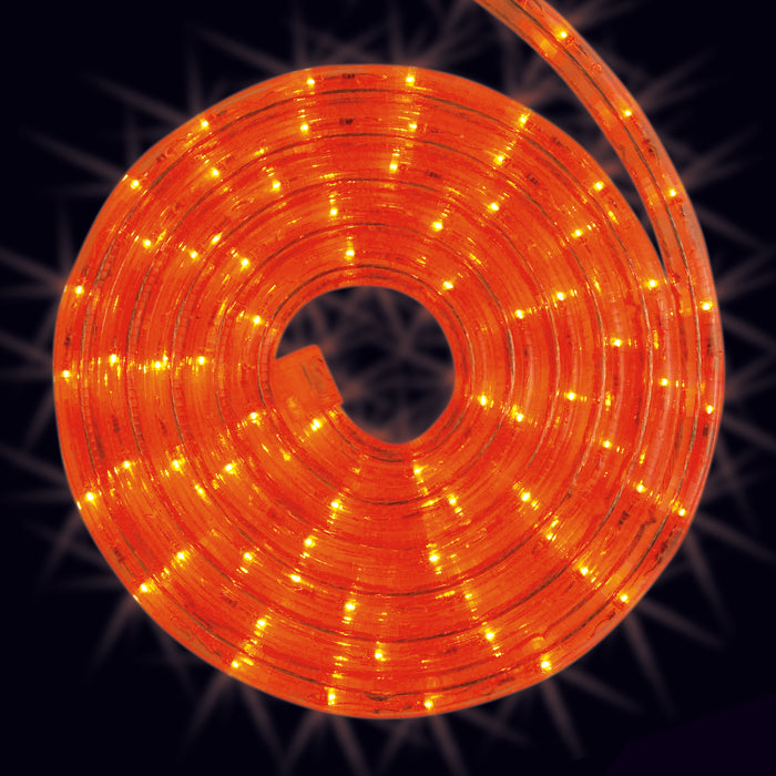 Orange, rope light, roll, splice, cut to size, commercial-grade, outdoor, Christmas, holiday, LED, quality, durable, 2021