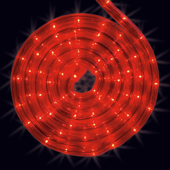Red, rope light, roll, splice, cut to size, commercial-grade, outdoor, Christmas, holiday, LED, quality, durable, 2021