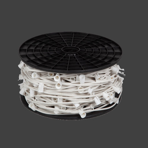 outdoor, indoor, LED, bulb, lights, quality, durable, commercial-grade, replacement, C7, 2021, white, wire, spool, bulk, roll, sockets, spt-1, 18 awg