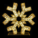 2020 Holiday Snowflake Decoration Selfie Motif Design HolidayLights.com LED Twinkling Aluminum Quality Commercial Grade