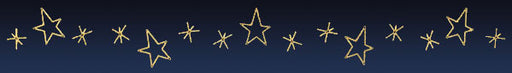 LED Star Skyline Decoration - 40 Ft.Street, city illuminating outdoor hanging decoration, pole decorations
