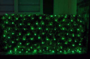 Pro LED Net Light - Green, Shrub and tree lighting, outdoor holiday decoration