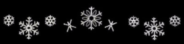 LED Snowflake Skyline Decoration – Pure White – 24 Ft.