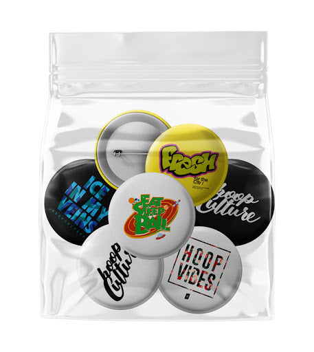 Hoop Culture Button 3-Pack - Hoop Culture