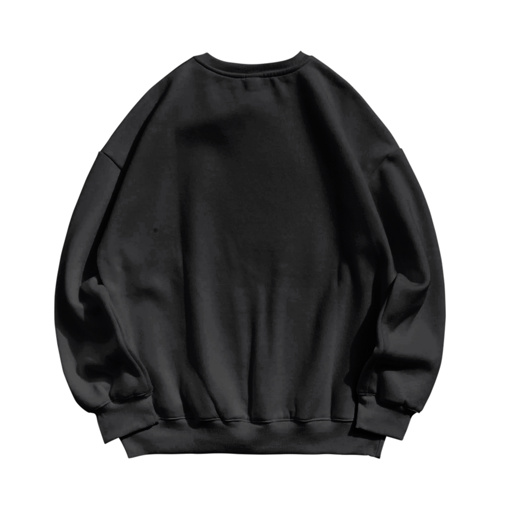 Locked In Dyed Crew Neck Crew Sweater - Hoop Culture