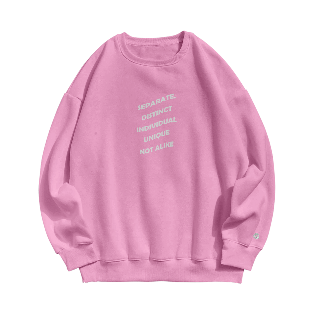 Not Alike Dyed Crew Neck Crew Sweater - Hoop Culture