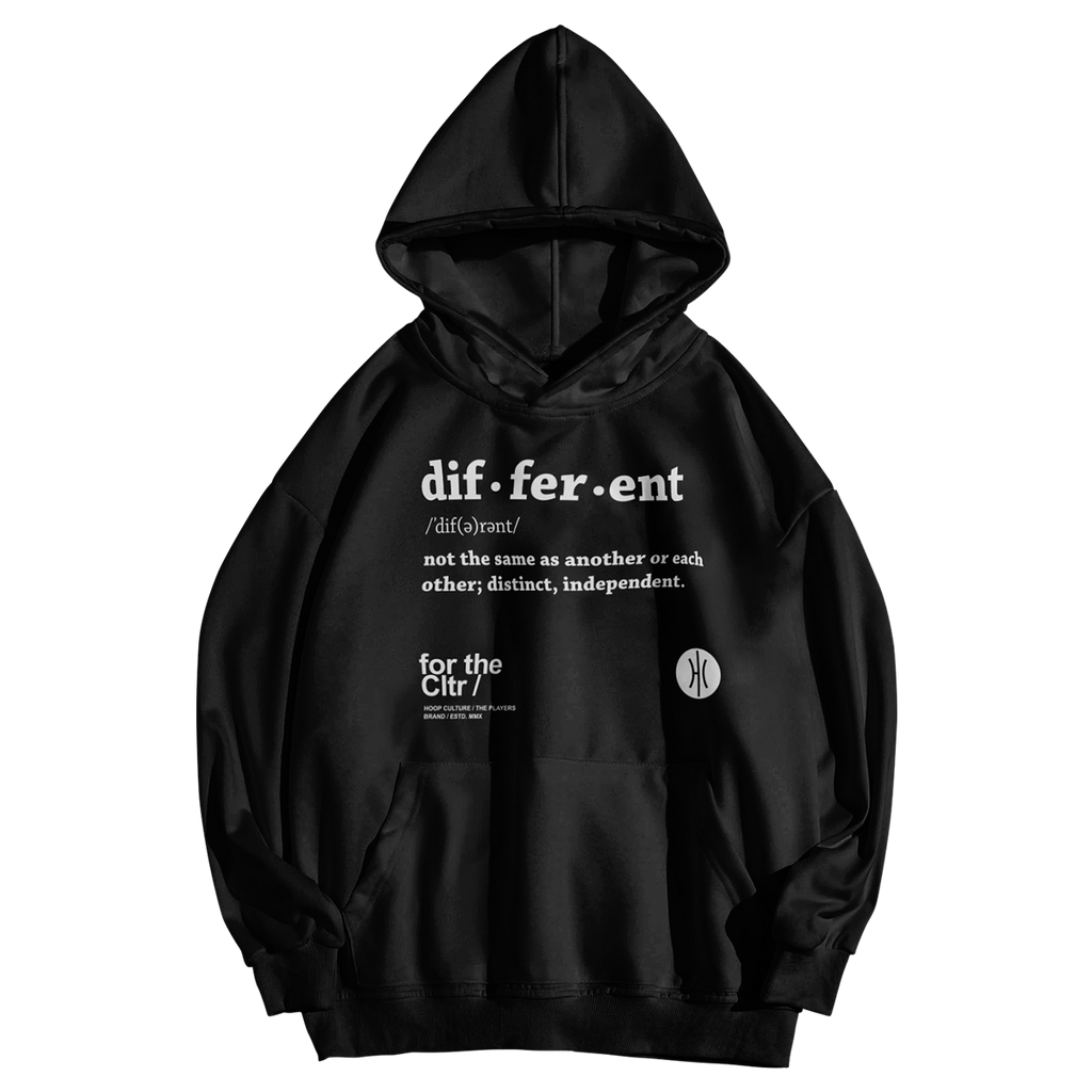Be Different Poly Hoodie - Kids Hoodie - Hoop Culture