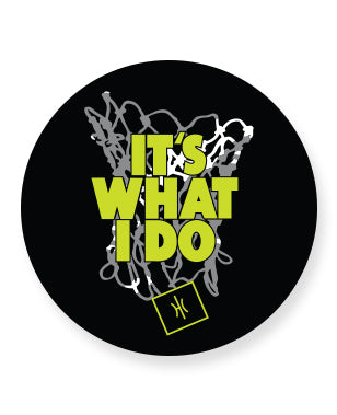 It'sWhatIdo Vinyl Sticker Vinyl Sticker - Hoop Culture