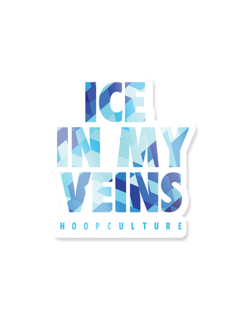 Ice In My Veins Vinyl Sticker