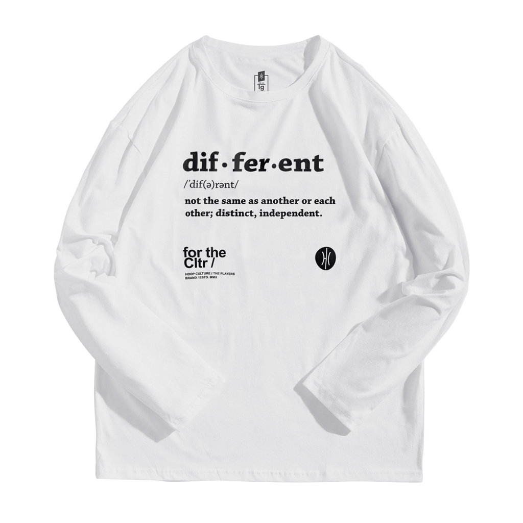 Be Different FTC Long Sleeve Long Sleeve - Hoop Culture