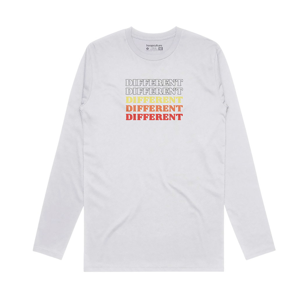 Different Retro Poly Long Sleeve Long Sleeve - Hoop Culture