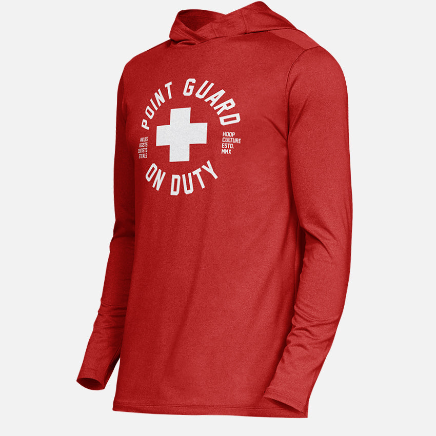 Point Guard Lite Poly Hoodie - Kids Active Wear - Hoop Culture