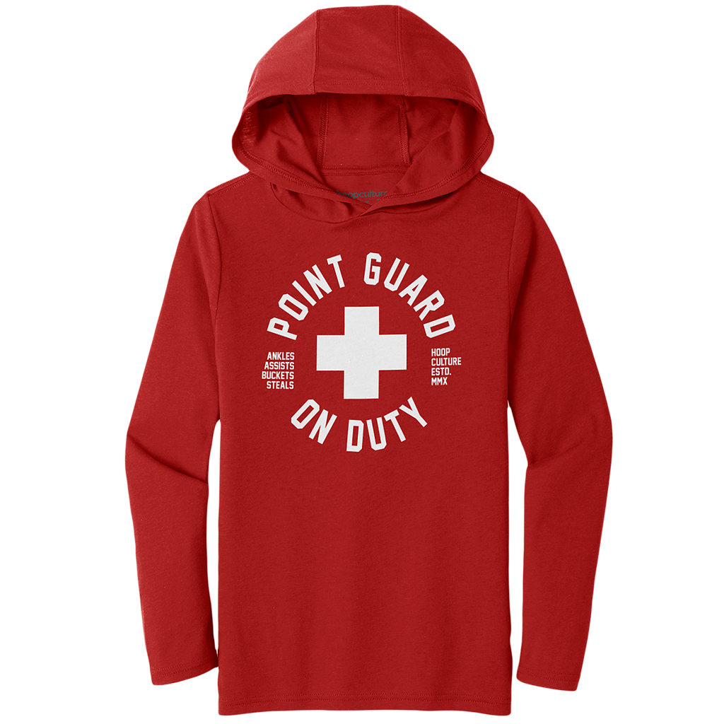 Point Guard Lite Poly Hoodie Active Wear - Hoop Culture