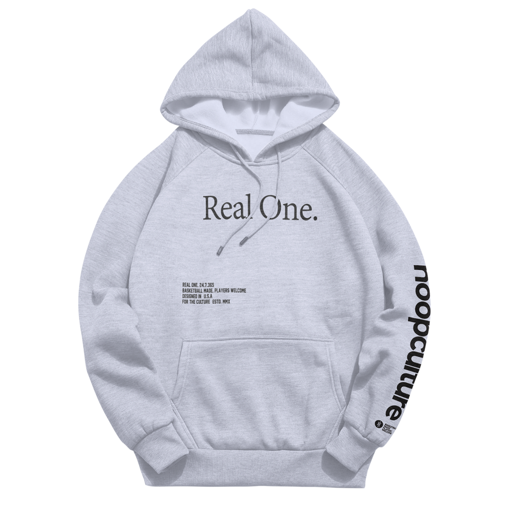 Real One - The Coalition Hoodie - Hoop Culture