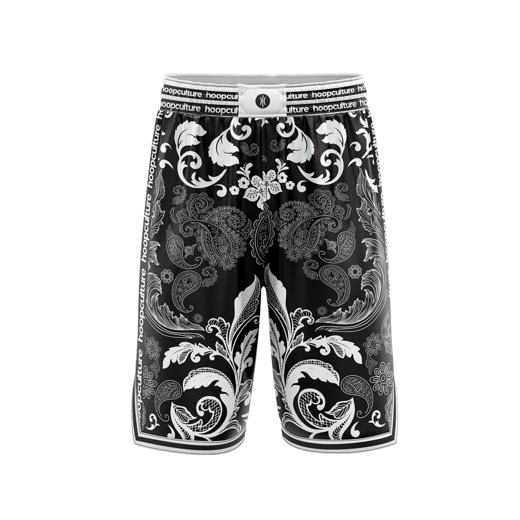 Paisley Culture Hoop Shorts - Hoop Culture
