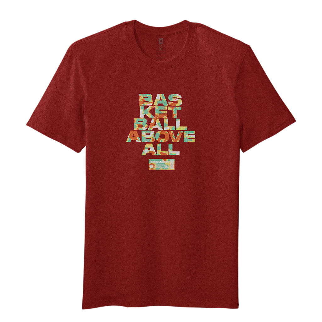 Basketball Above All 'Heat' T-Shirt T-Shirt - Hoop Culture