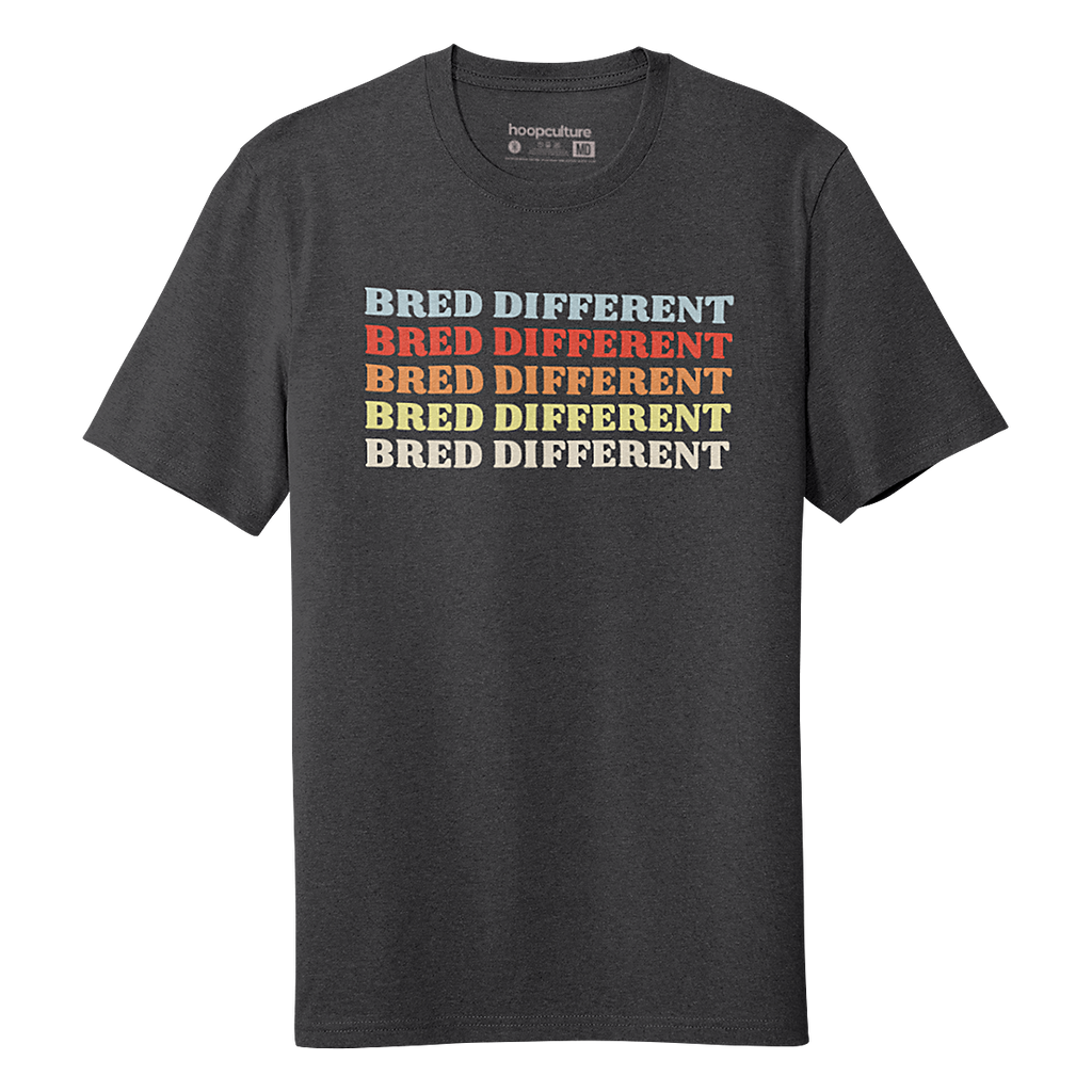 Retro Bred Different T-Shirt - Hoop Culture