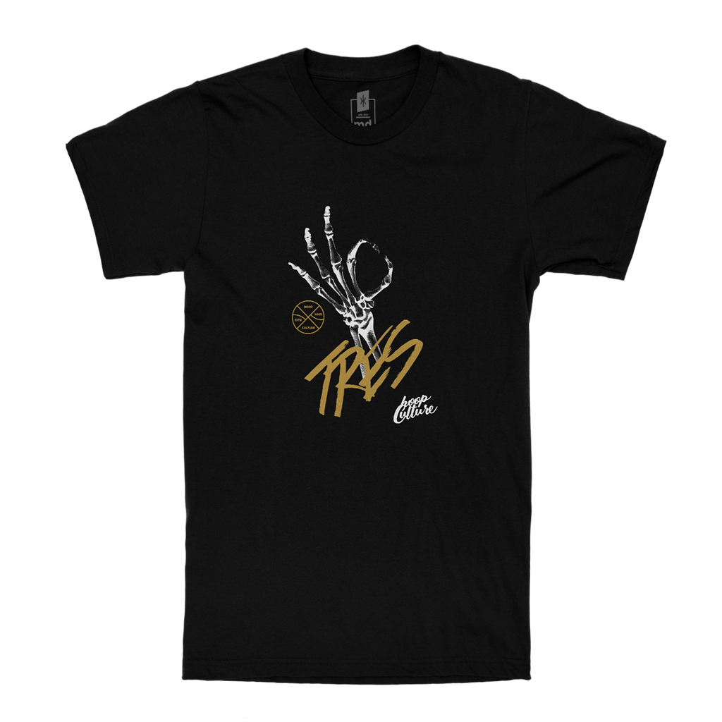 "Tres Mortis ""Gold"" Tee - Kids T-Shirt - Hoop Culture"